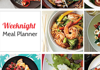 Cooking Light Weeknight Meal Planner